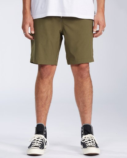 0 Transport Elastic Short Green M2512BTE Billabong