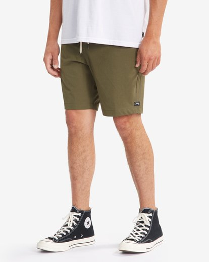 11 Transport Elastic Short Green M2512BTE Billabong