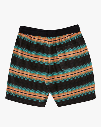 "5 Flecker Sancho Short 19"" Black M2533BSS Billabong"