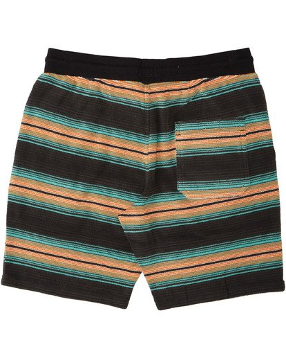 "6 Flecker Sancho Short 19"" Black M2533BSS Billabong"