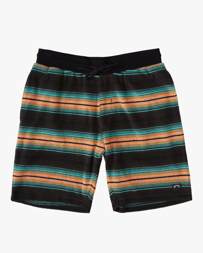 "4 Flecker Sancho Short 19"" Black M2533BSS Billabong"