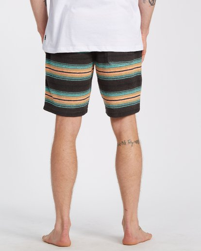 "3 Flecker Sancho Short 19"" Black M2533BSS Billabong"
