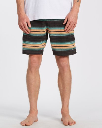 "0 Flecker Sancho Short 19"" Black M2533BSS Billabong"