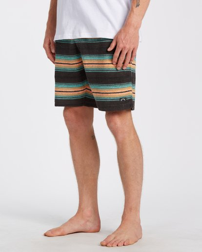 "1 Flecker Sancho Short 19"" Black M2533BSS Billabong"