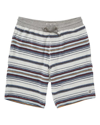 0 Flecker Ensenada Shorts Grey M253TBEN Billabong