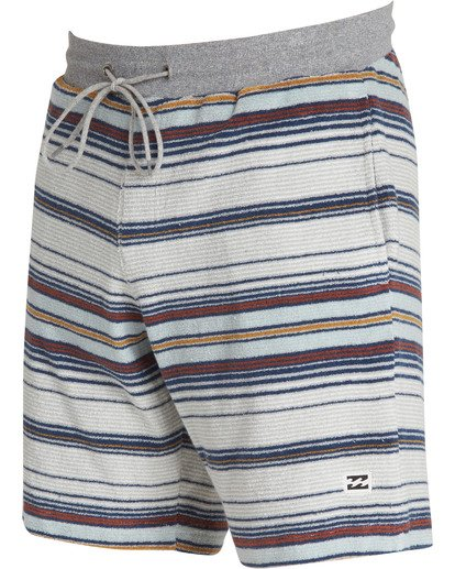 2 Flecker Ensenada Shorts Grey M253TBEN Billabong