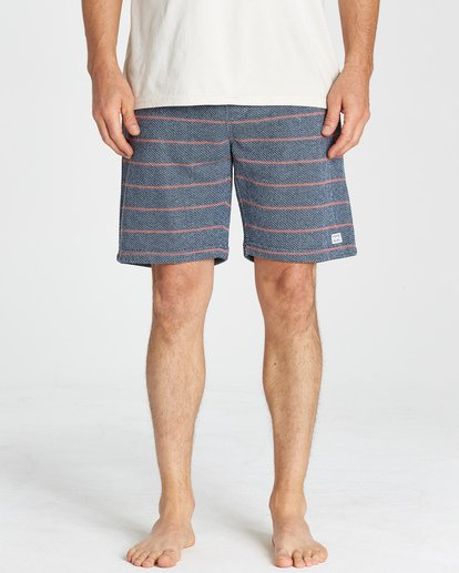7 Flecker Ventana Shorts Blue M253VBVS Billabong