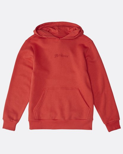0 Boys Eighty Six Hoodie Rouge M2FL01BIW8 Billabong