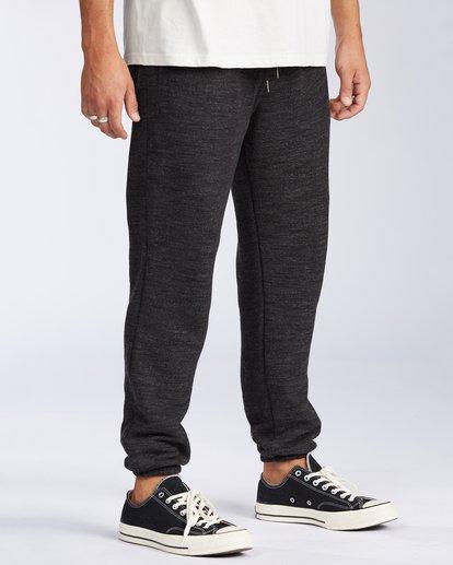 2 Balance Pant Cuffed Sweatpant Black M3003BBP Billabong