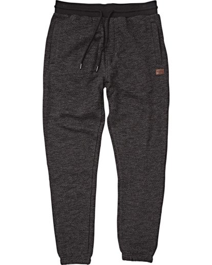 3 Balance Pant Cuffed Sweatpants Black M300VBBP Billabong