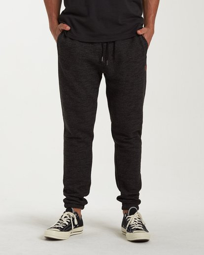 0 Balance Pant Cuffed Sweatpants Black M300VBBP Billabong