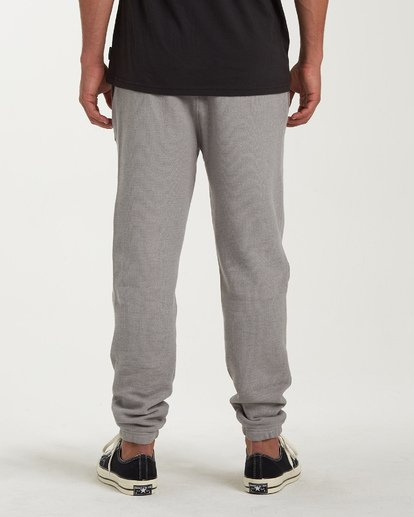 4 Balance Pant Cuffed Sweatpants Grey M300VBBP Billabong