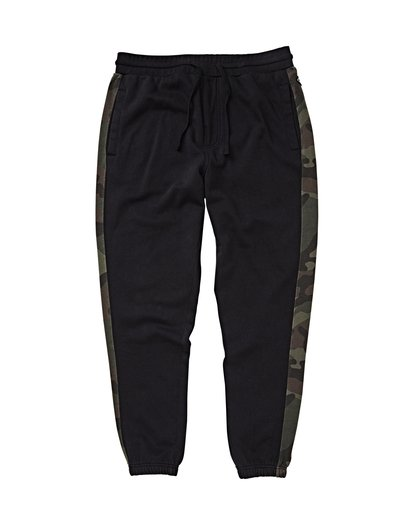 4 Wave Washed Pant Sweatpants Black M300VBWP Billabong