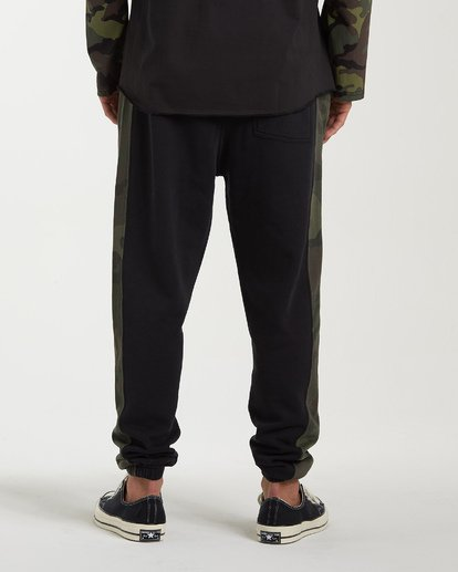 3 Wave Washed Pant Sweatpants Black M300VBWP Billabong