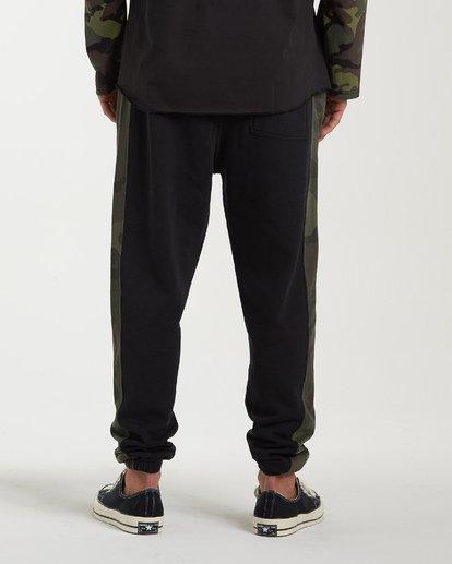 3 Wave Washed Pant Sweatpants Black M300VBWP Billabong