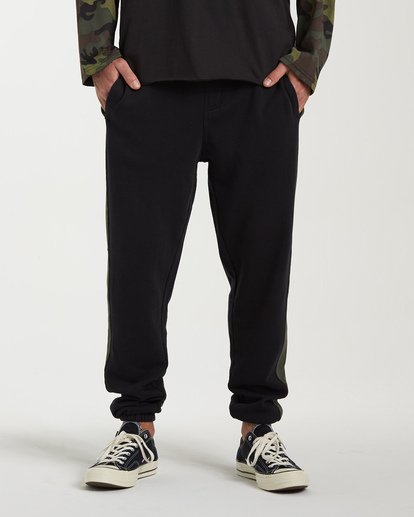 0 Wave Washed Pant Sweatpants Black M300VBWP Billabong