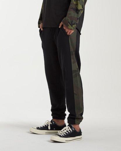 1 Wave Washed Pant Sweatpants Black M300VBWP Billabong