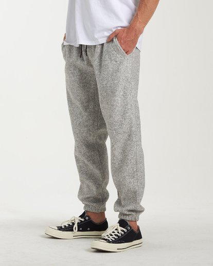 1 Boundary Sweatpants Grey M305WBBO Billabong