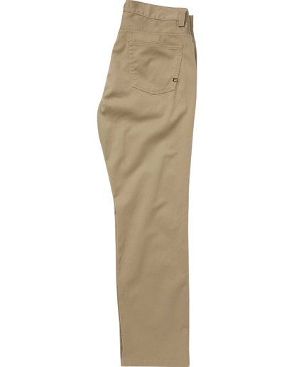 1 Fifty Pant Beige M310QBFT Billabong