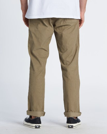 2 Larry Corduroy Pant Grey M3121BLC Billabong
