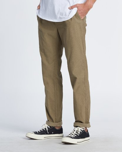 1 Larry Corduroy Pant Grey M3121BLC Billabong