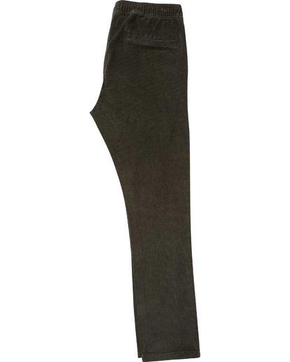 1 Larry Layback Cord Pant Black M312QBLC Billabong