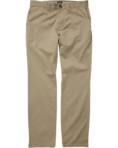 1 Carter Stretch Chino Pant Grey M3143BCS Billabong