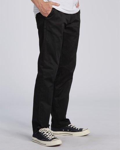 1 Carter Stretch Chino Pant Black M3143BCS Billabong