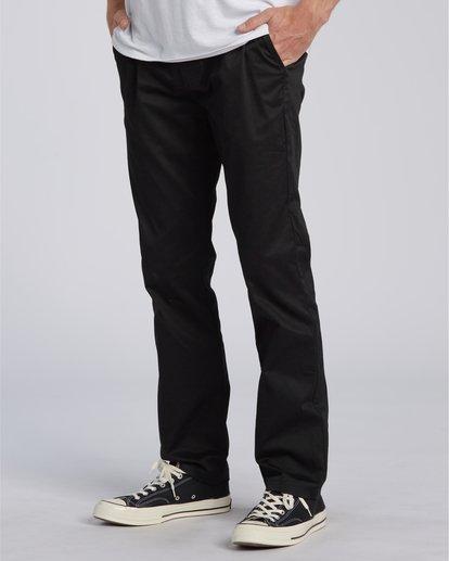2 Carter Stretch Chino Pant Black M3143BCS Billabong