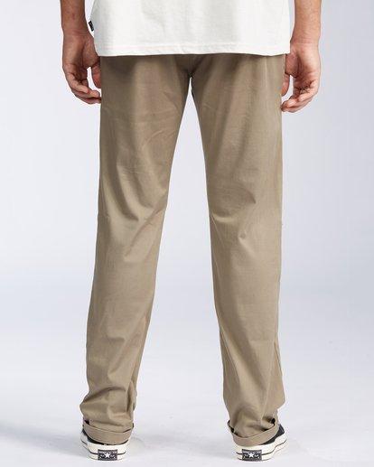 2 Carter Stretch Chino Pant Grey M3143BCS Billabong