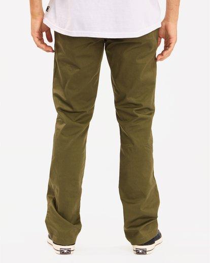 3 Carter Stretch Chino Pant Green M3143BCS Billabong