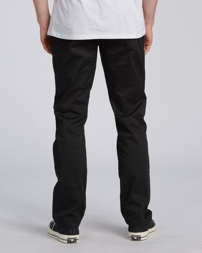 3 Carter Stretch Chino Pant Black M3143BCS Billabong