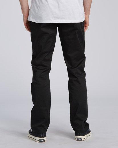 4 Carter Stretch Chino Pant Black M3143BCS Billabong