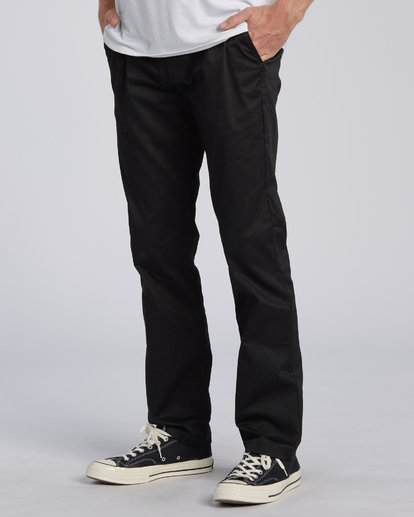 2 Carter Stretch Chino Pant Black M3143BCS Billabong