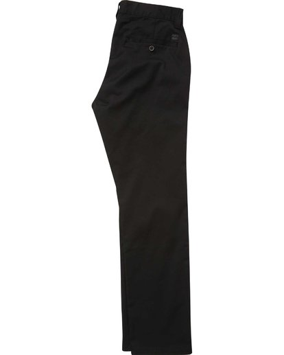 1 Carter Stretch Chino Pants Black M314QBCS Billabong