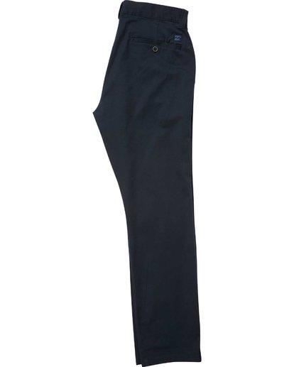 5 Carter Stretch Chino Pants Blue M314QBCS Billabong