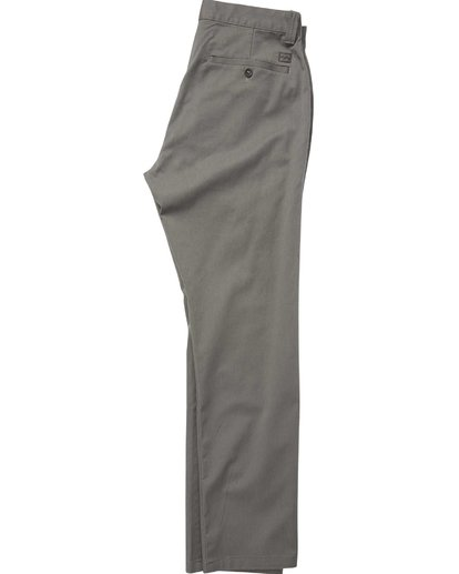 1 Carter Stretch Chino Pants Grey M314QBCS Billabong