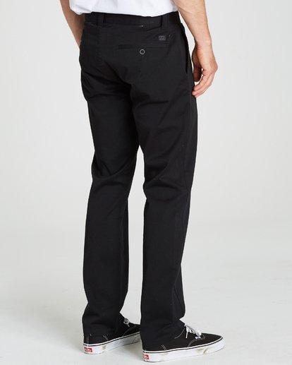 1 Carter Stretch Chino Pants Black M314QBCS Billabong