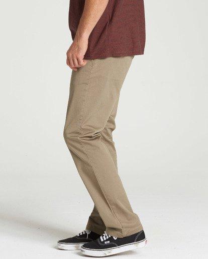 1 Carter Stretch Chino Pants Green M314QBCS Billabong