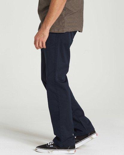 1 Carter Stretch Chino Pants Blue M314QBCS Billabong