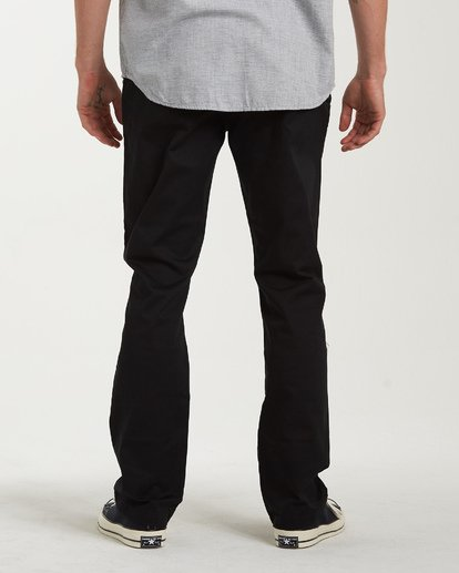 2 Carter Stretch Chino Pants Black M314VBCS Billabong