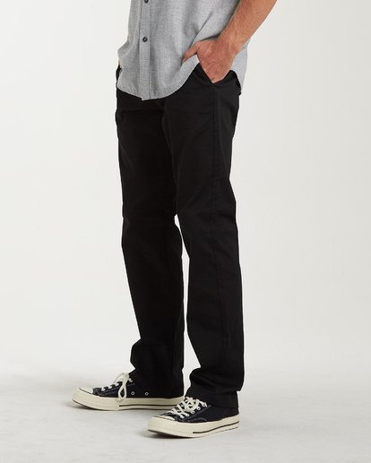 1 Carter Stretch Chino Pants Black M314VBCS Billabong
