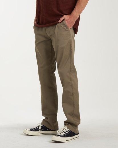 1 Carter Stretch Chino Pants Grey M314VBCS Billabong