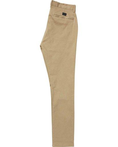 1 New Order Chino Pant Beige M315QBNO Billabong