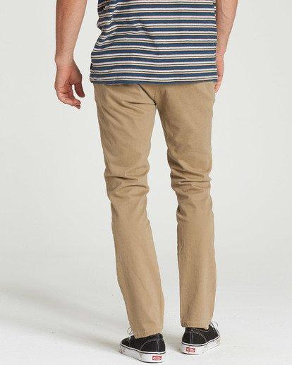 3 New Order Chino Pant Grey M315QBNO Billabong