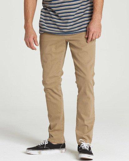 0 New Order Chino Pant Grey M315QBNO Billabong