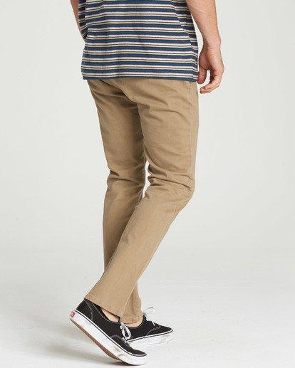 2 New Order Chino Pant Grey M315QBNO Billabong