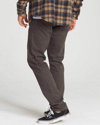 1 New Order Chino Pant Black M315QBNO Billabong