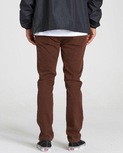 2 New Order Chino Pant Brown M315QBNO Billabong