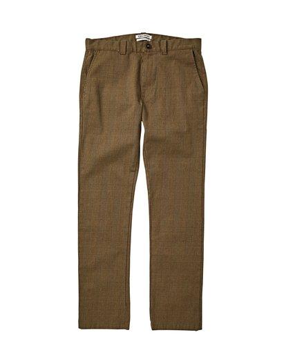3 Carter Yarndye Chino Pants Grey M315VBCY Billabong